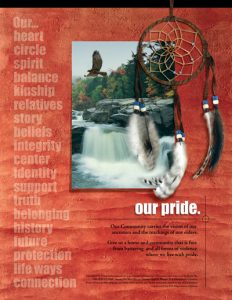 Our Pride (community) – Our community carries the vision of our ancestors and the teachings of our elders