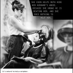 It's Hard to Know What to Do poster sample; hairdresser