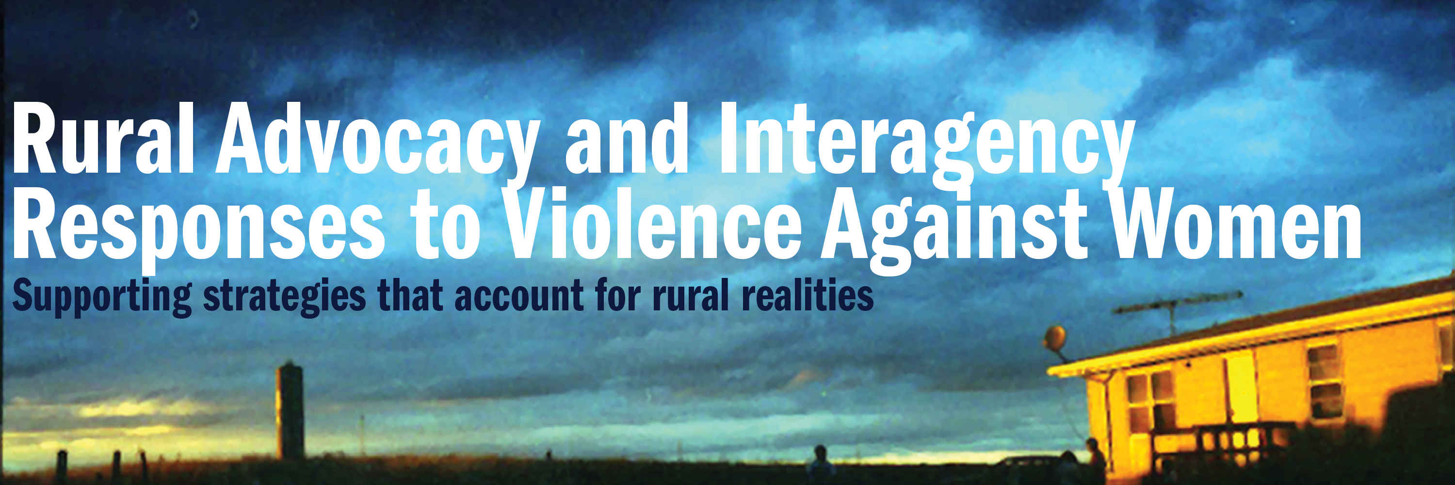 Rural TA project banner